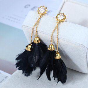 Kate Spade Feather Earrings
